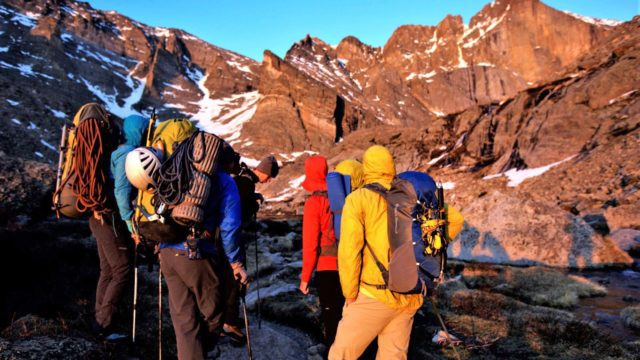 5-day mountaineering development series level 2 course.
