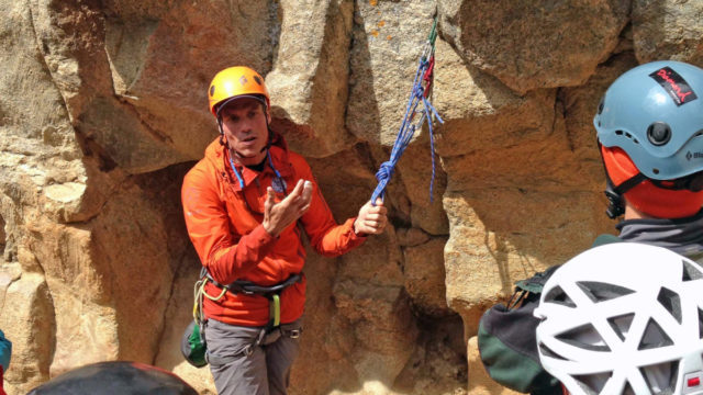 Rock Climbing Anchors and Anchor Clinic.