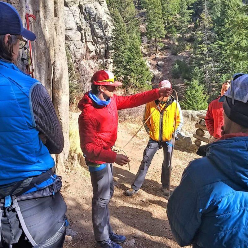 Amga Single Pitch Instructor Course Colorado Mountain School