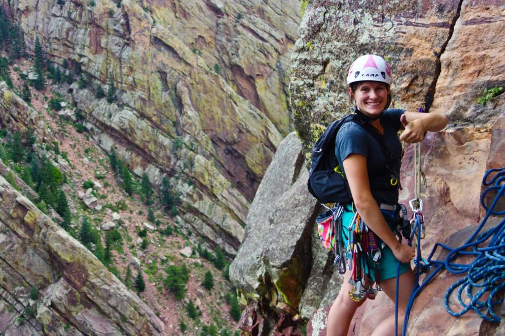 Finding the best places to climb in Eldorado Canyon State Park, Boulder, Colorado