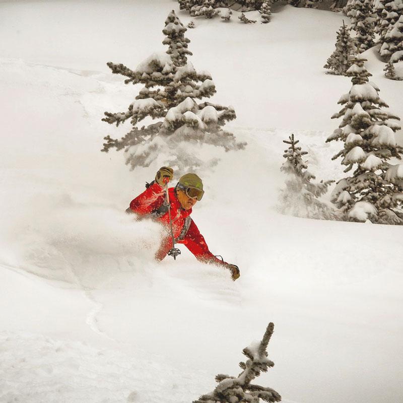 RMNP Ski Tour: Backcountry Skiing in Rocky Mountain National Park