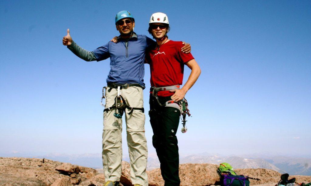 Summit of Long's Peak, Rocky Mountain National Park, Colorado Mountain School