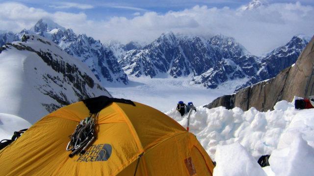 Alaska Range Camping