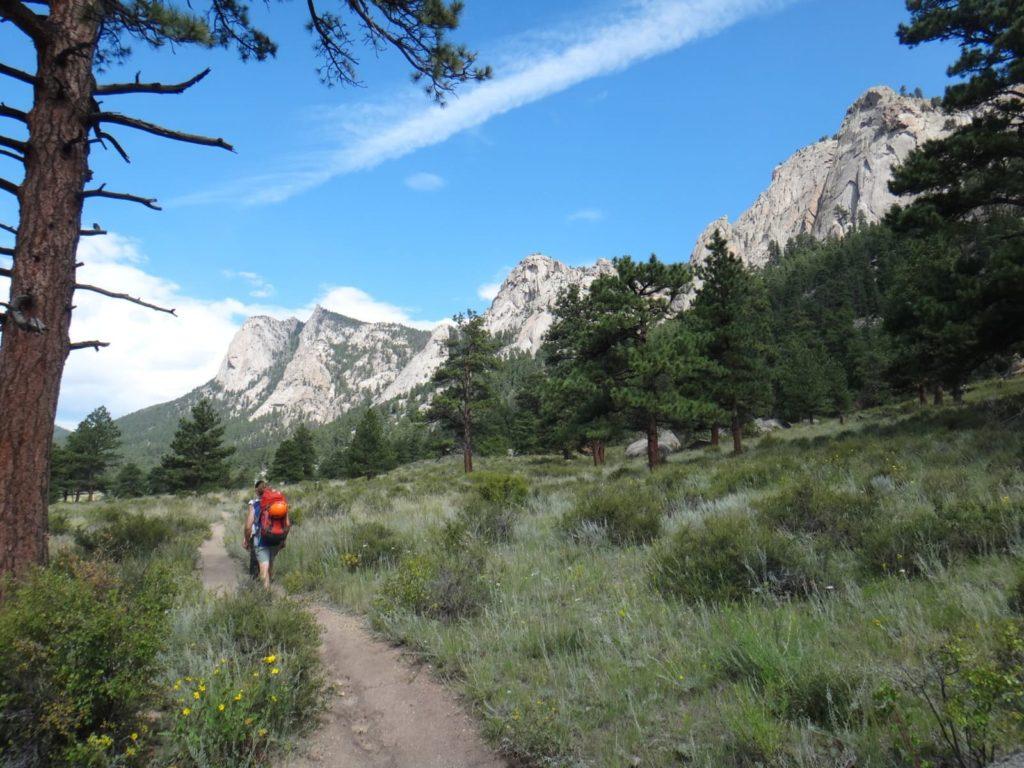 Trail to Lumpy Ridge