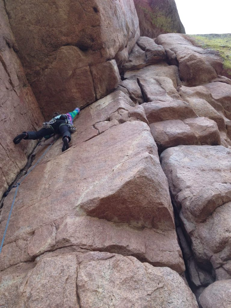 Climbing Vedauwoo