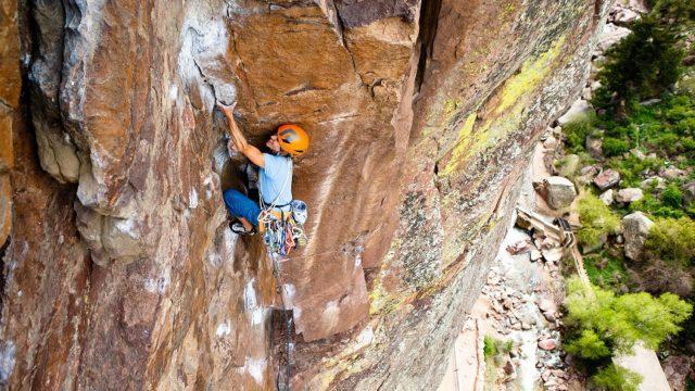 Rock Climbing Development Series course in Colorado.