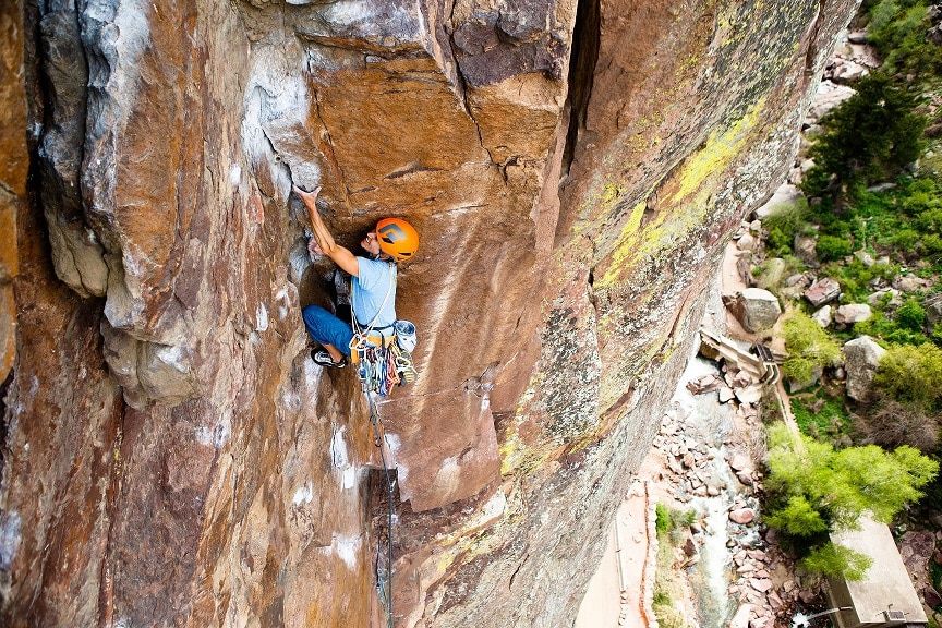 Guided rock climbing trips, tours and lessons in Estes Park, Boulder and Denver, Colorado