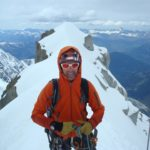 Ian Fowler Haute Route. Winter Climbing with CMS Guides.