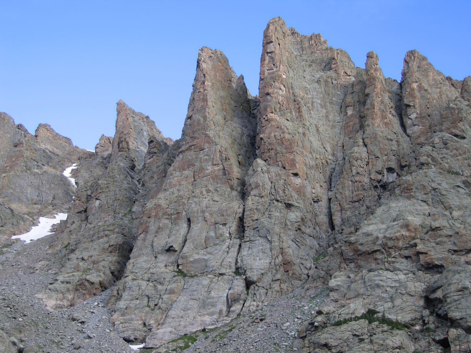 Rock climbing guiding and instruction in Estes Park, Denver and Boulder, Colorado