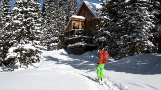 Backcountry Ski Hut Trips in Colorado.