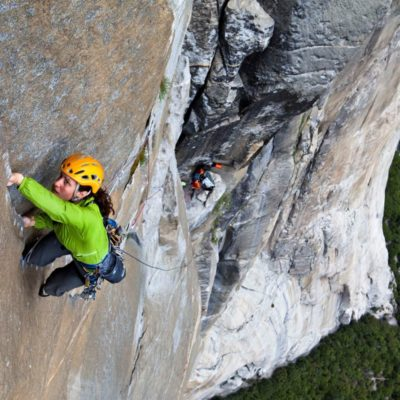 Madaleine Sorkin Rock Climbing Coach for Mad Sensei Performance Training Camp.