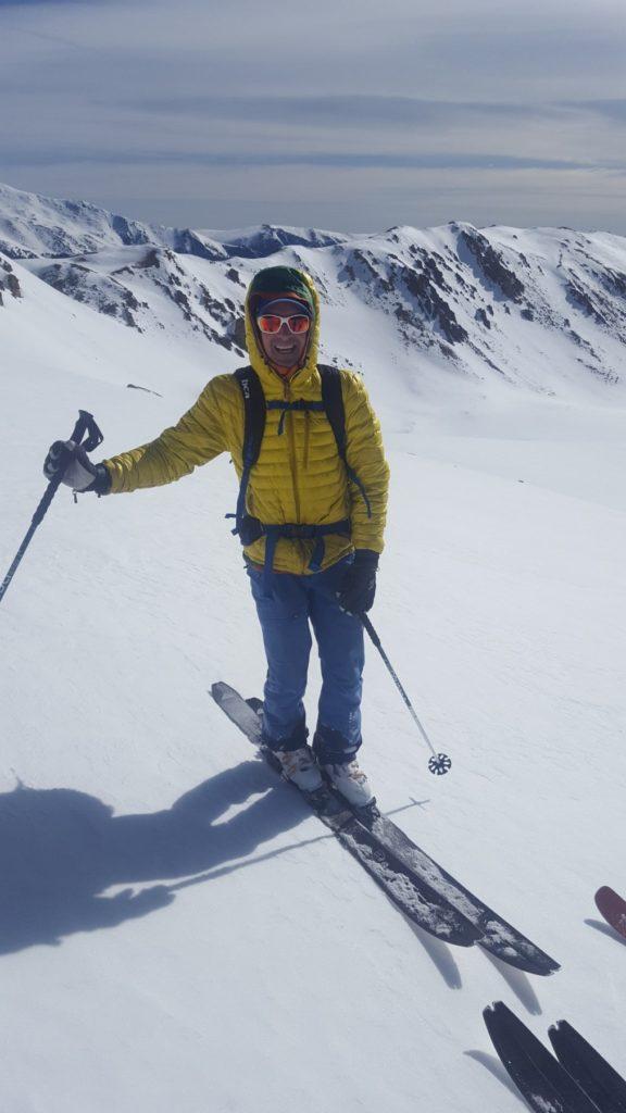 Ian Skiing