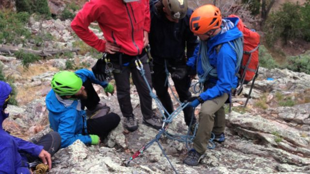 AMGA Rock Guide Course Mentorship
