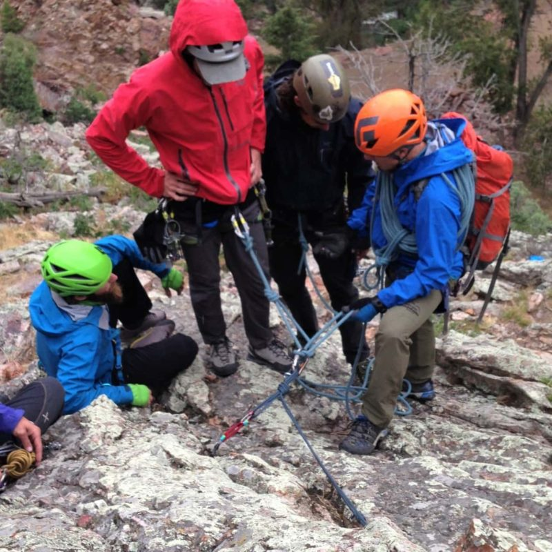AMGA Rock Guide Course Mentorship