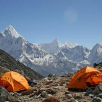 Lobuche East Nepal Himalaya Climbing Trip. Climb and Trek in the Himalaya's with mountain guides.