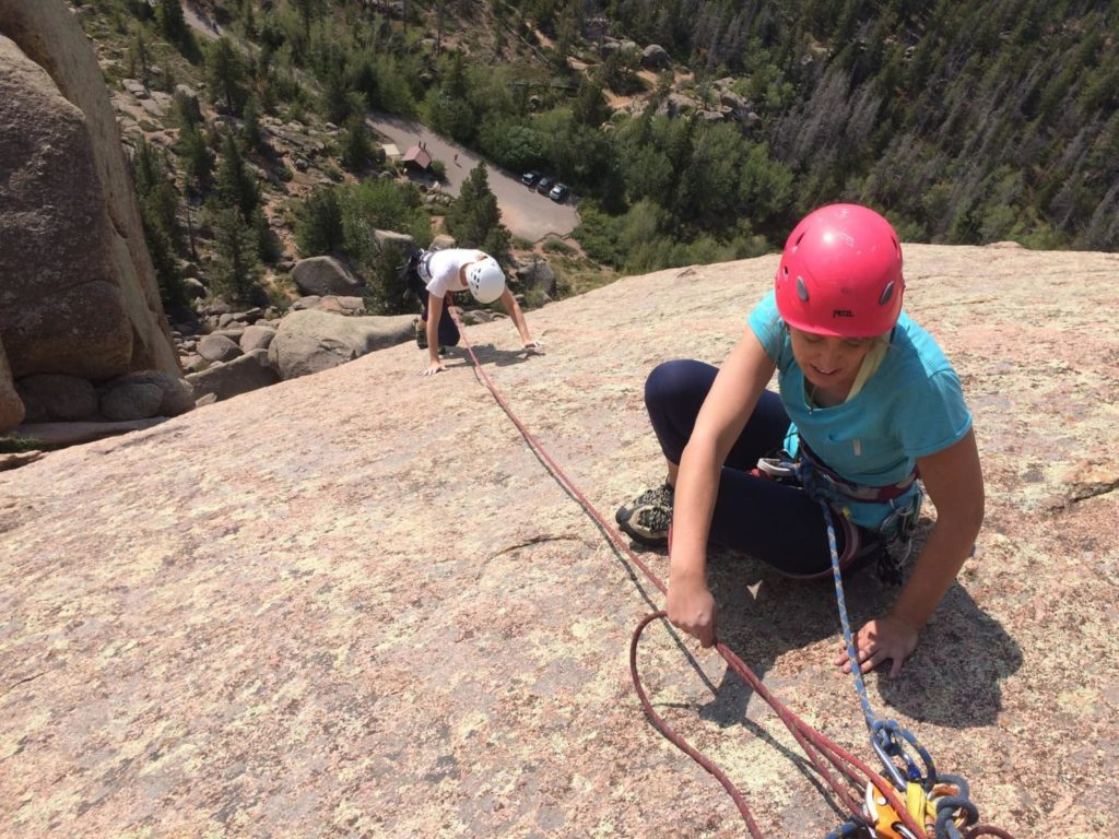 8 Day Rock Climbing Camp in Vedauwoo Wyoming and Colorado.