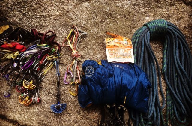 AMGA Certified Rock Guide Japhy Dhungana. Reviews Sterling Evolution Aero 9.2mm Rope.