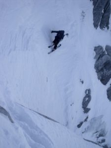 Skiing in Chamonix France