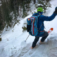 CMS guide Jason Maurer looks at the RMNP conditions in the Dream Chutes zone.