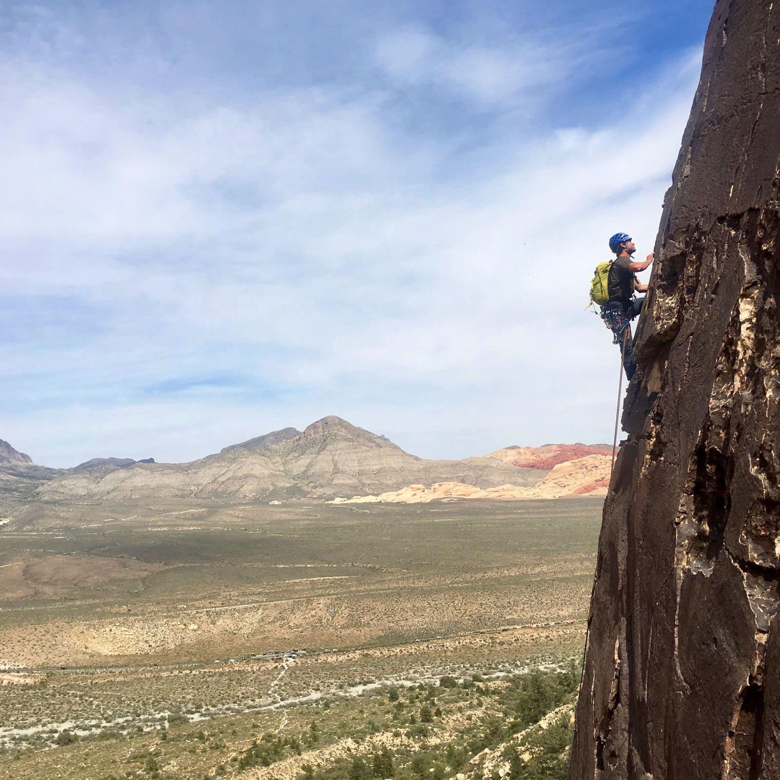 Red Rocks 8 Day Rock Climbing Camp: October 14-21, 2018