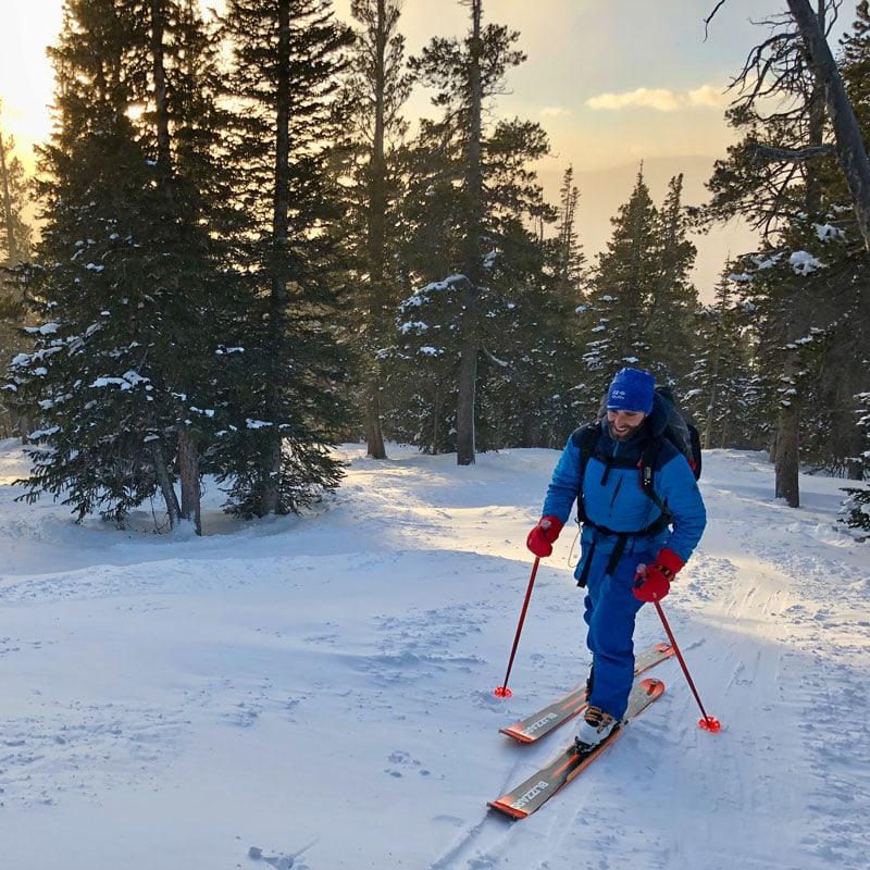 intro to uphill skiing colorado mountain school