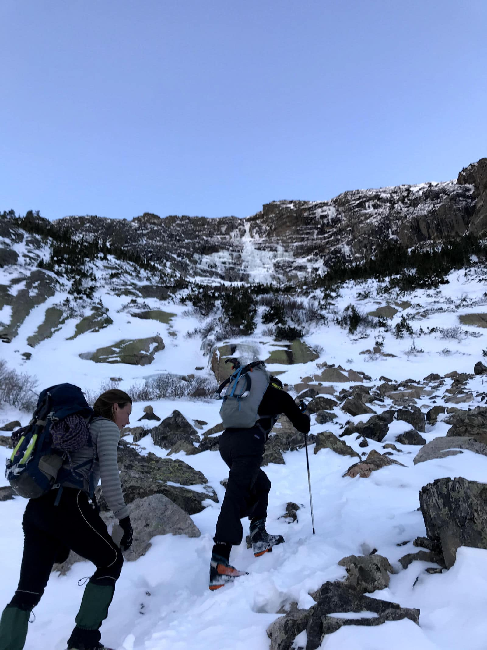 All Mixed Up Photo Gallery (WI3+ 600')