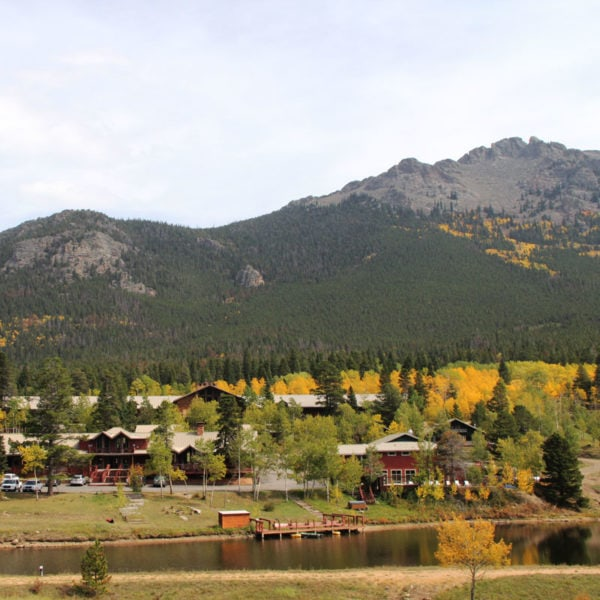Dao House sits in the mountain valley near Longs Peak, just outside of Rocky Mountain National Park.