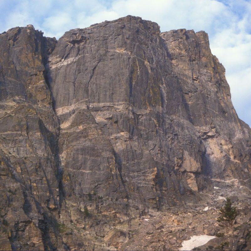 North Face, Hallet Peak, Rocky Mountain National Park