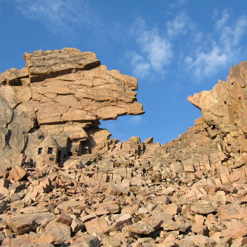 The Keyhole Route on Longs Peak in Rocky Mountain National Park