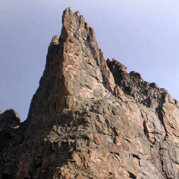 South Face of Notchtop, Rocky Mountain National Park