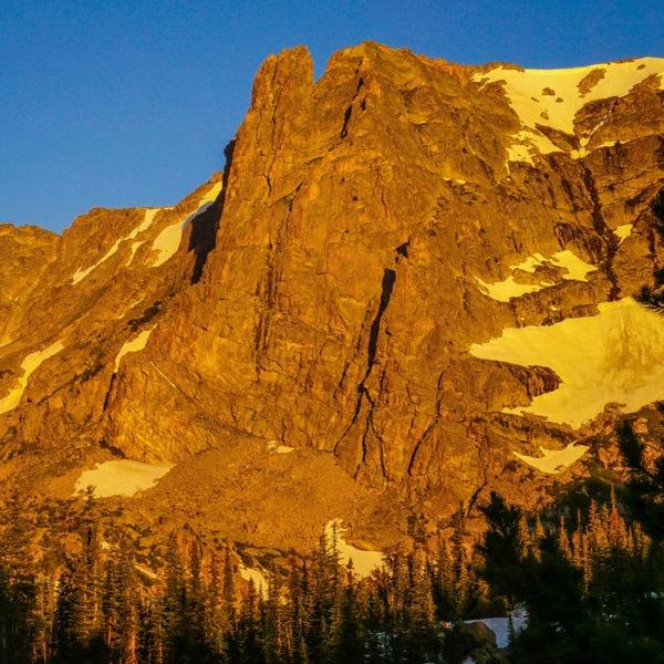 Notchtop Mountain, Rocky Mountain National Park