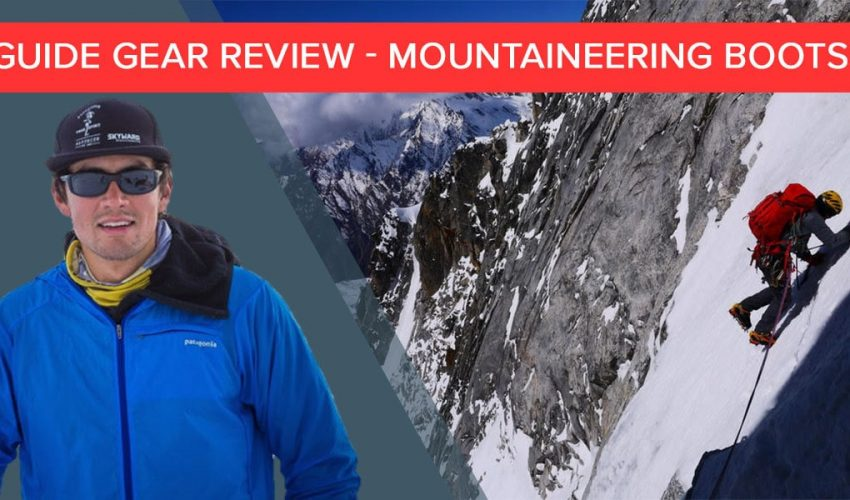 Guide Gear Review - SCARPA mountaineering boots - Buster Jesik