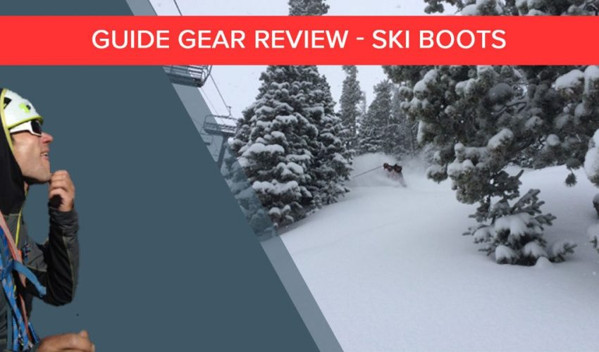 SCARPA ski boot review from Colorado Mountain School guide Jake Gaventa