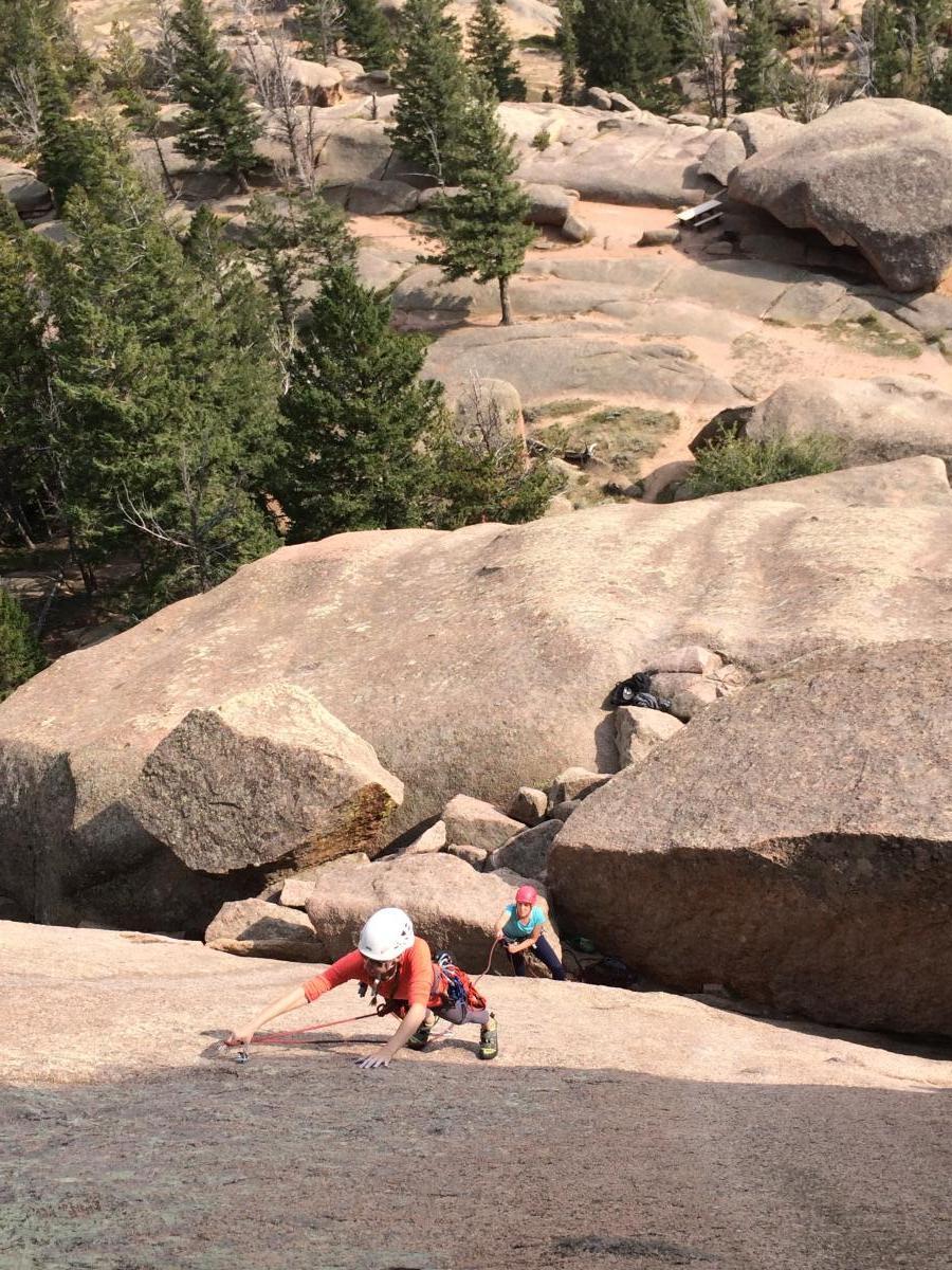 8 Day Rock Climbing Camp